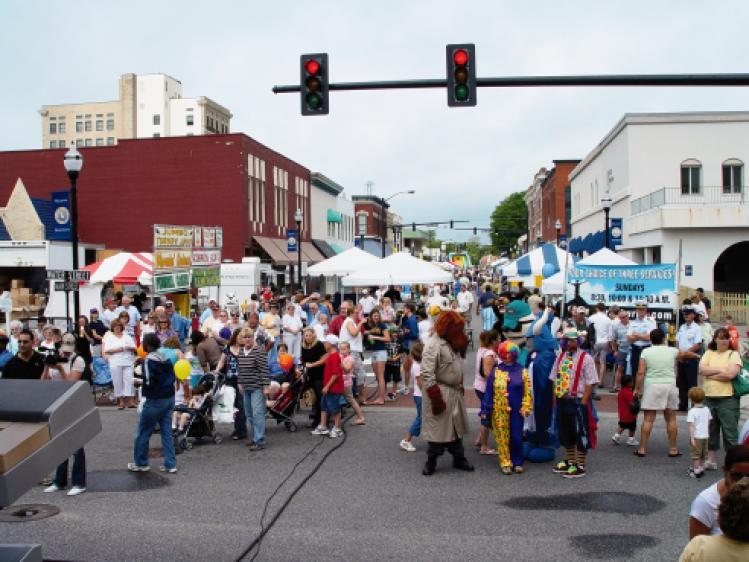 North Carolina Potato Festival in Elizabeth City, NC