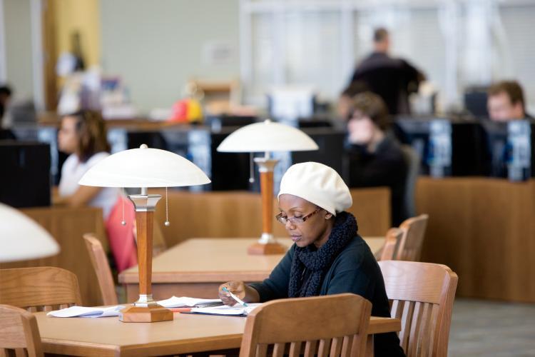 Johnston Community College Library in Smithfield, NC