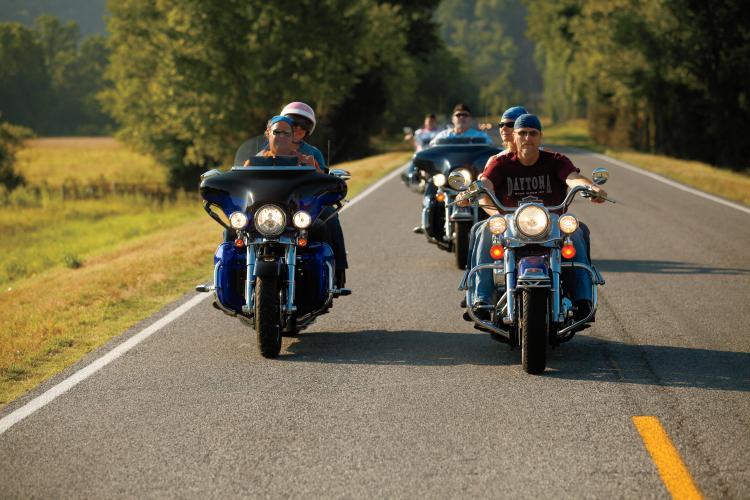 Motorcyclists in Muskogee, OK