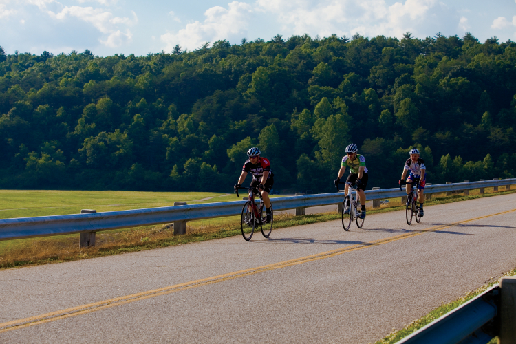 The Brushy Mountain Cyclists Club in Wilkesboro, NC.