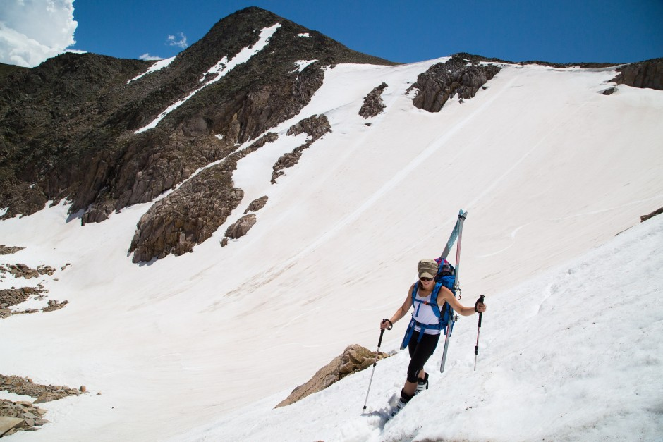 Blogger Heather Balogh, Just A Colorado Gal, in Rocky Mountain National Park (RMNP)