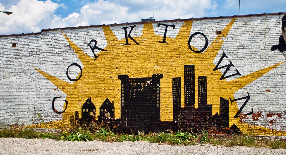 Corktown, a historic district in Detroit