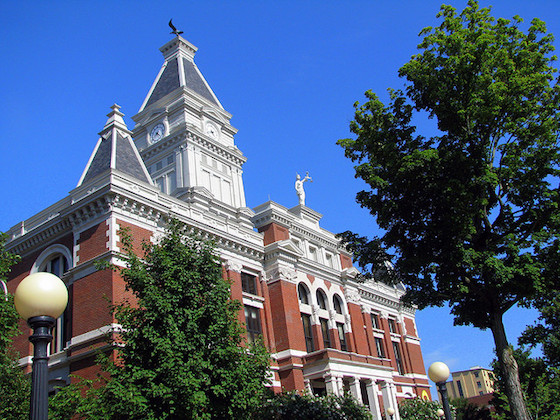 Montgomery Co. Courthouse in Clarksville, TN