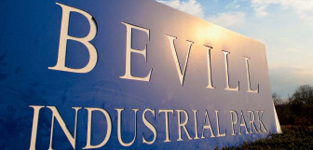 The Tom Bevill Industrial Park in Jasper, Alabama