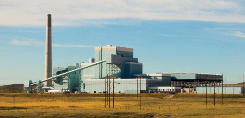 Power Plant in Gillette, WY
