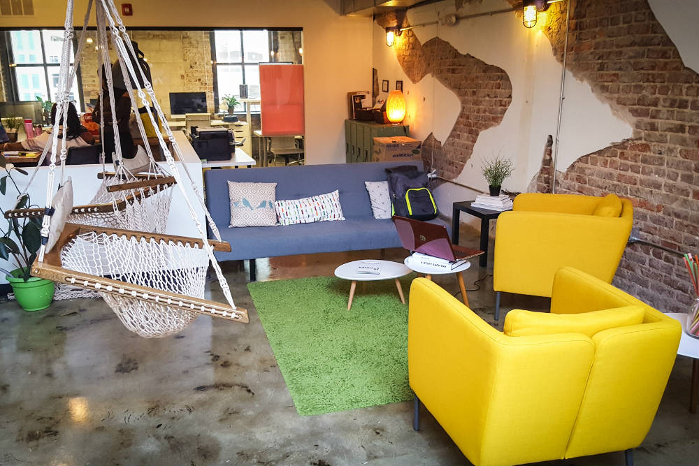 Coworking space in Raleigh