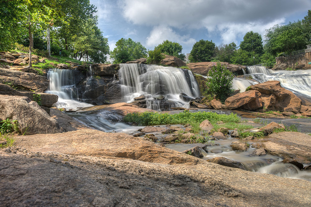 Greenville Waterfall