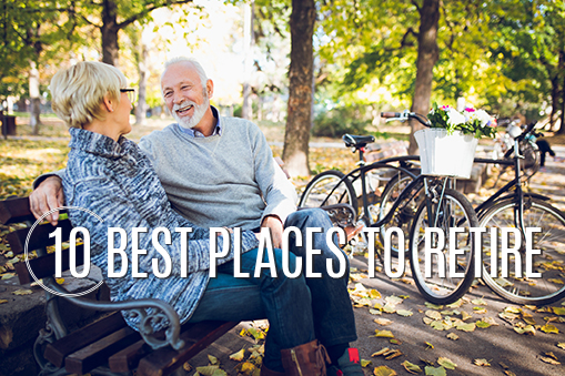 10 Best Places to Retire 2018