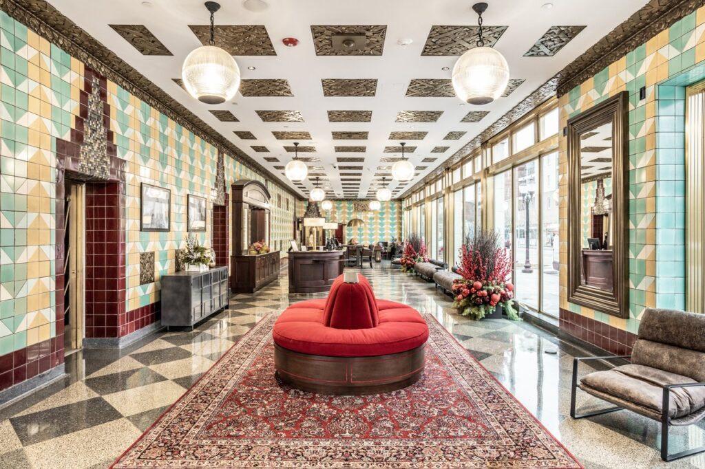 Bottleworks Hotel Lobby