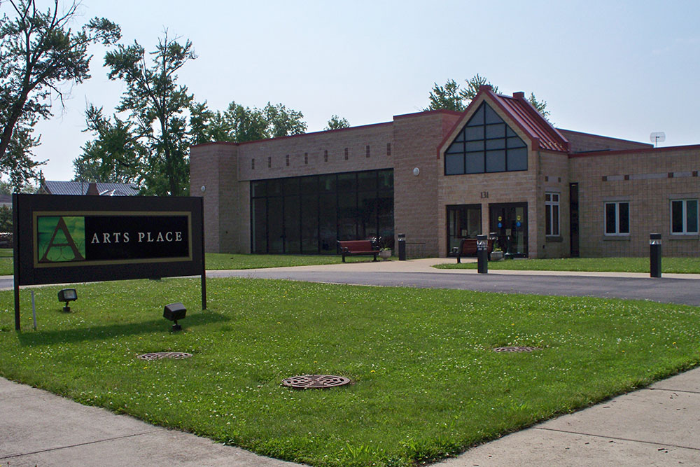 Arts Place Building Exterior in Jay Co. IN